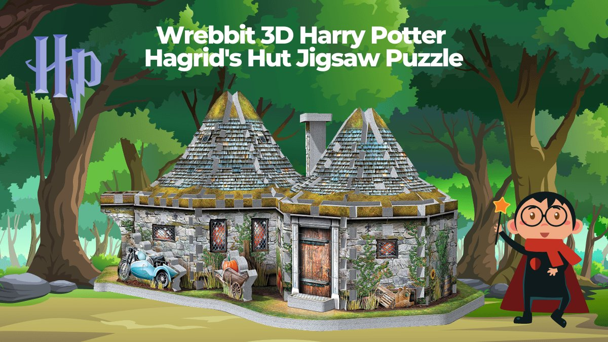 The official Harry Potter puzzle collection just got a little more magical with this awesome Hagrid's Hut 3D jigsaw puzzle! 🧩 [https://t.co/VxUqwzRnNU] #Hagrid #HarryPotter #JKRowling #JK #JrToyCompany #Puzzle https://t.co/r0FYXkfC8t