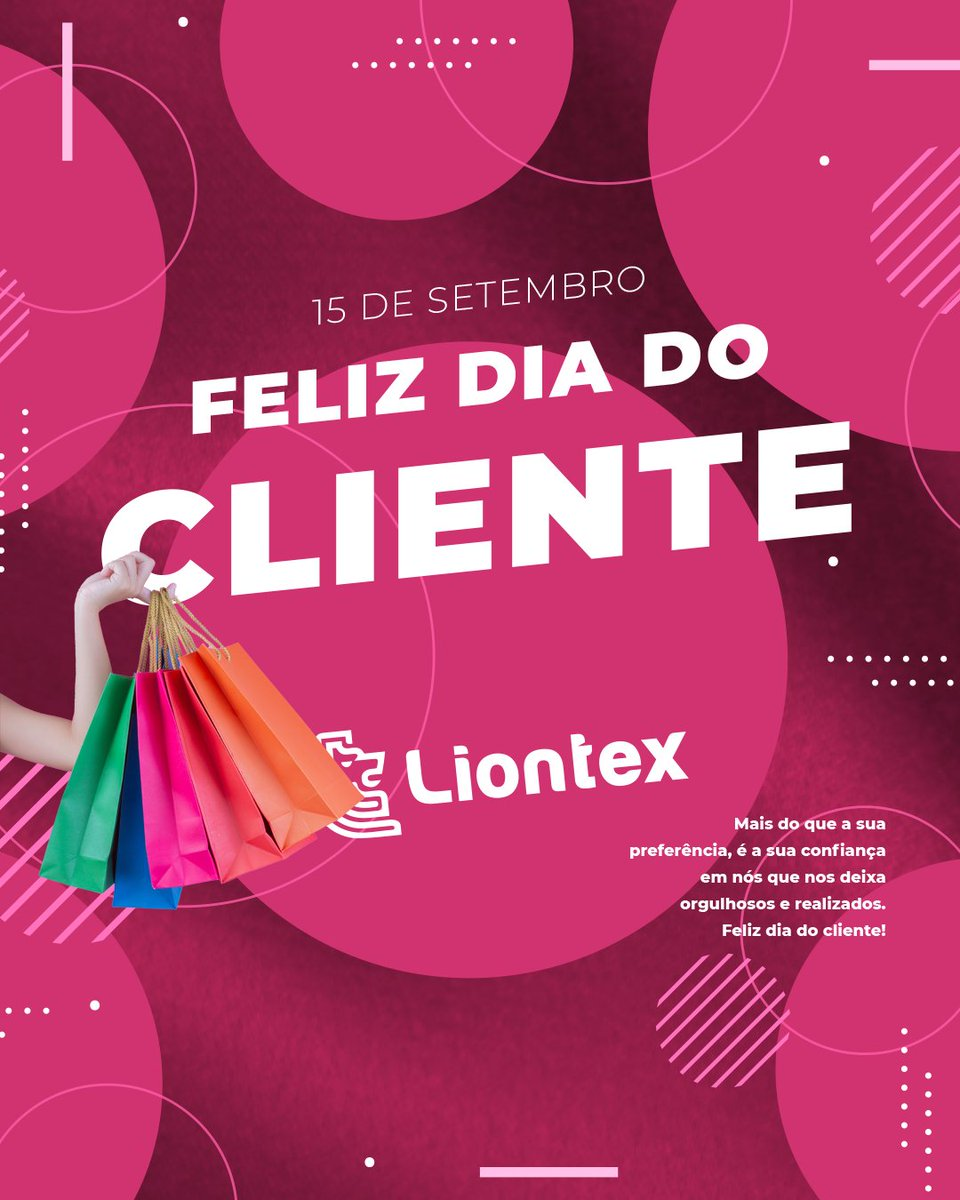 Feliz dia do cliente!  #petropolis #riodejaneiro #niteroi #duquedecaxias #moda #fashion #tecido #malha #textil #pano #viscose #suplex https://t.co/1pFB9XrPUl