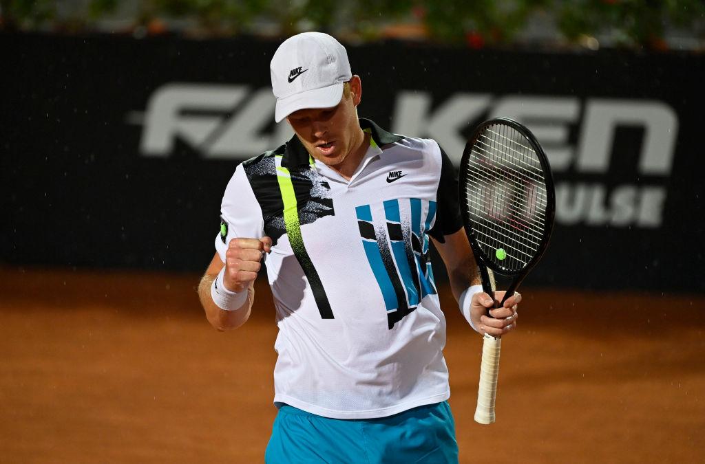 Kyle Edmund lost in the first round of the Italian Open against Marco Cecchinato.  In full: bbc.in/3moFNDj  #bbctennis