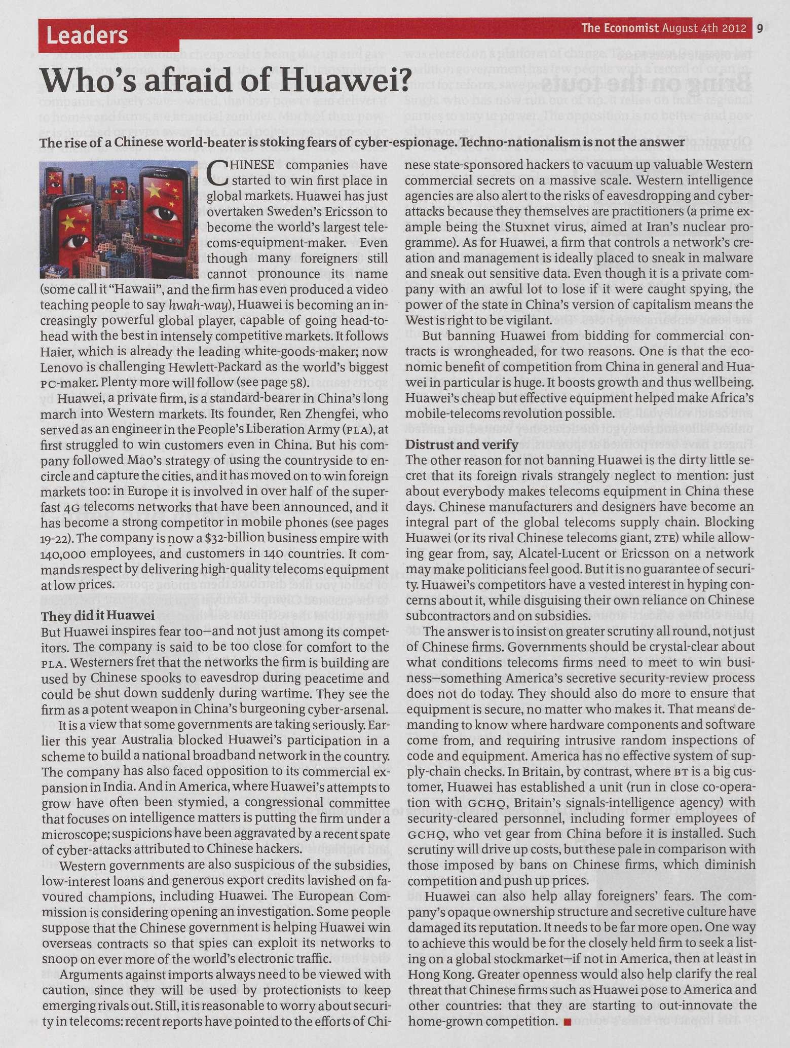 1987年的今天,华为在深圳正式注册成立。-书迷号 shumihao.com