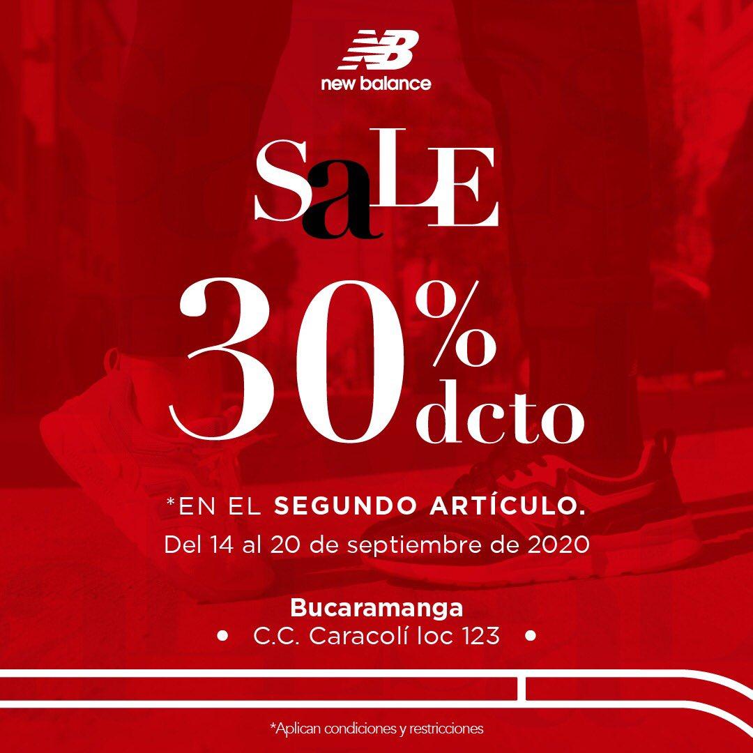 #Sale #AmorYAmistad | ¡Celebra con el -30% OFF en el segundo artículo del 14 al 20 de septiembre!   Te esperamos en nuestra tienda de 📍#Bucaramanga en C.C Parque Caracolí, local 123.  (*TyC: https://t.co/TmeNhrnUti) https://t.co/nsOoow8oOq