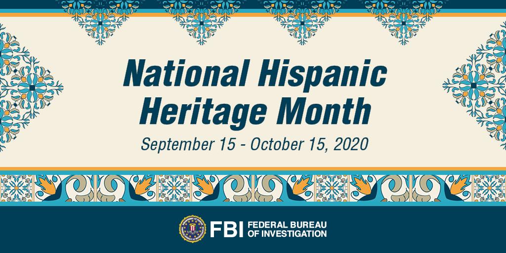 @FBI's photo on #HispanicHeritageMonth