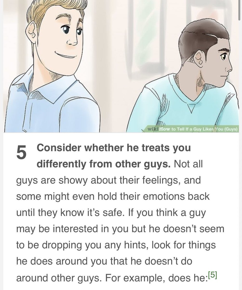 Likes if guy ways tell to you a How to