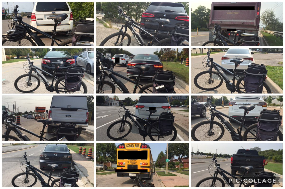 I handed out 13 tickets for #DistractedDriving as part of #ProjectSafeStart along Trafalgar Rd corridor today.  Included were a loaded dump truck & a loaded school bus.  1 of the drivers also not wearing a seatbelt, and another of the drivers also had bald tires. #RoadSafety ^MRT https://t.co/NH4acrr5uW