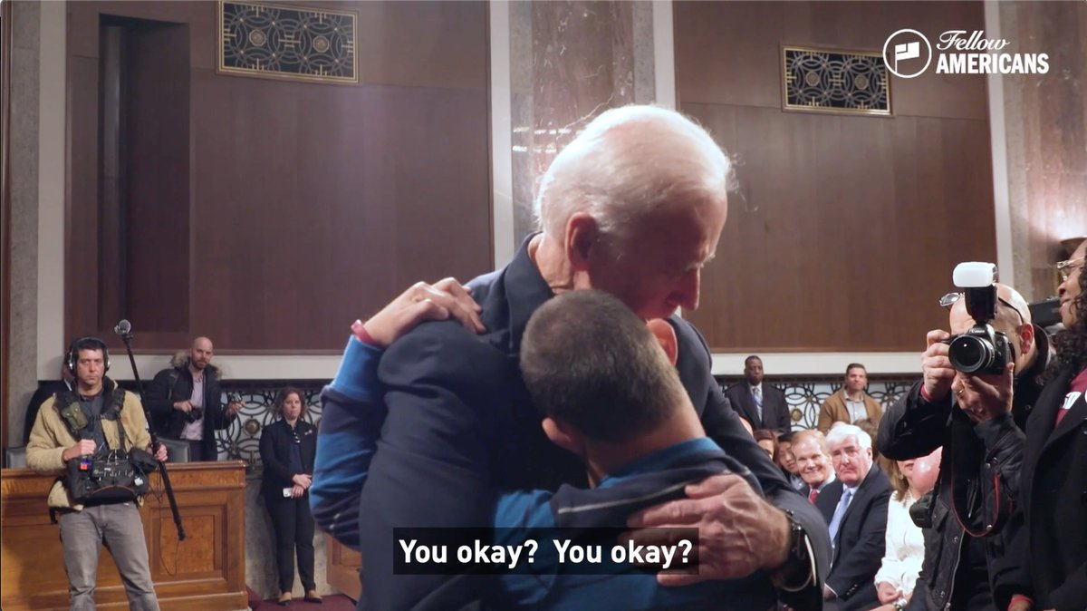 I'll never forget the comfort that @JoeBiden brought Corey after he lost his dad in the Parkland shooting. This powerful new ad from @Your_Americans illustrates Joe's character. He has the compassion and leadership to bring this country together.