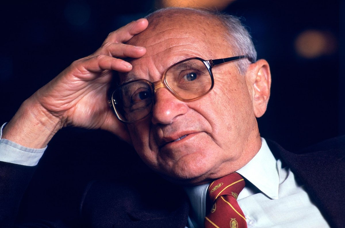 """A society that puts equality before freedom will get neither, a society that puts freedom before equality will get a high degree of both."" –Milton Friedman https://t.co/rmas8rxByN"