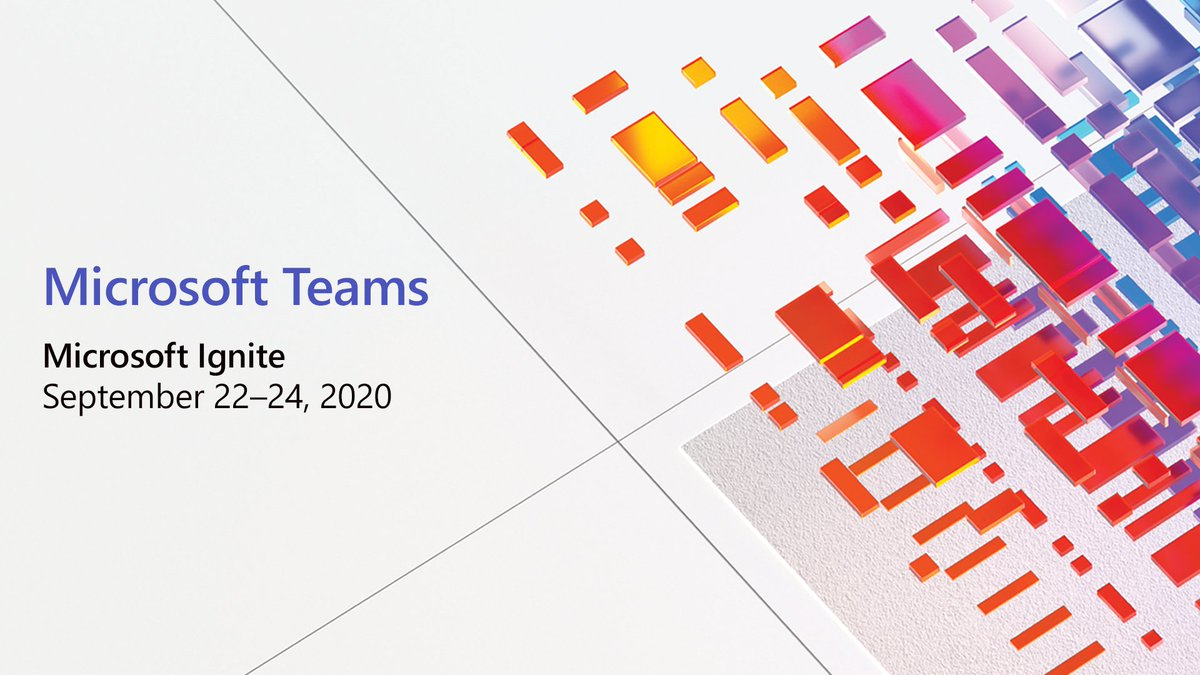 Don't miss all the Microsoft Teams action at #MSIgnite. Check out our digital guide for a rundown of our sessions and our favorite - virtual swag. https://t.co/FYwuVMswyU https://t.co/Kfn0bEDopk