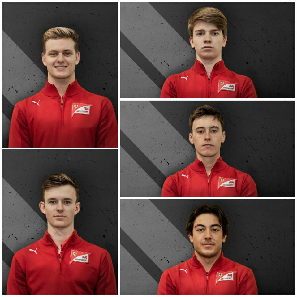 Según #AMus;  Alfa Romeo y Haas habrían acordado ceder un lugar para que suban 2 pilotos de la Academia Ferrari a la F1 en 2021! Por lo que 2 de los 5 pilotos pilotos que compiten en la F2 y son de la academia Ferrari, podrían tener su debut en la máxima categoría el próximo año. https://t.co/Yv8TmV4fm7
