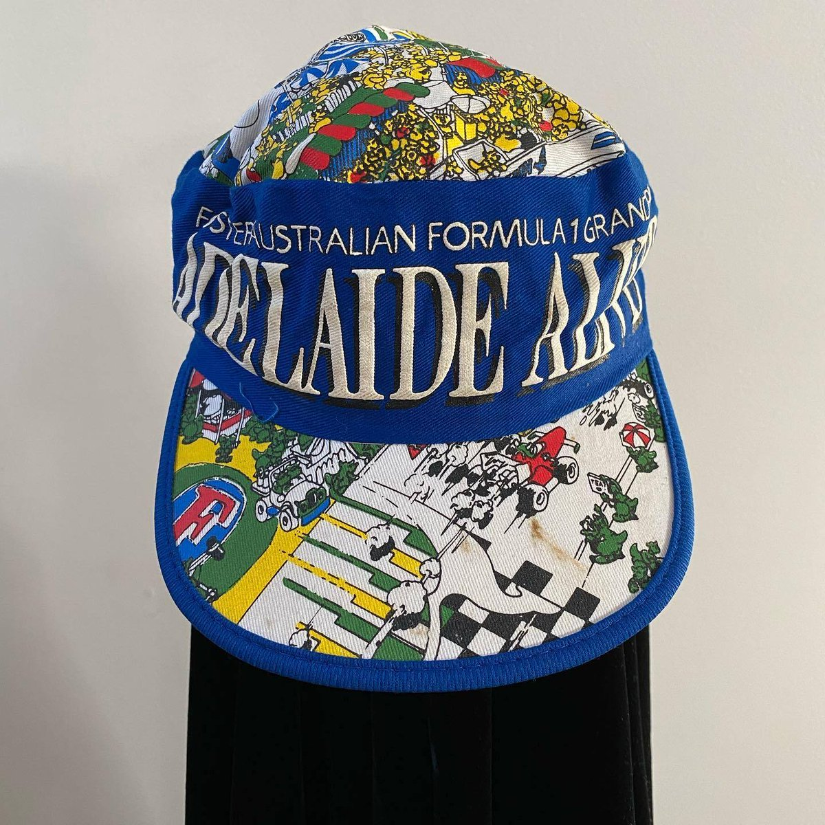A 1987 Adelaide Grand Prix legionnaire hat. #F1 #Adelaide https://t.co/iOjgLuvs8h