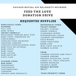 Image for the Tweet beginning: This Thursday-Saturday, we're collecting items