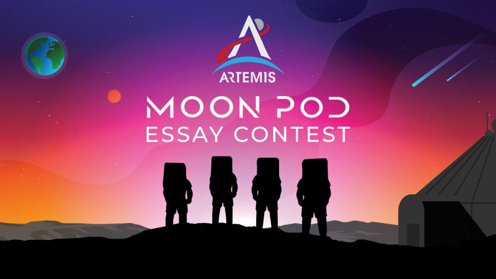 Calling all K-12 creative minds: Who would be your dream team to explore the Moon with? What would you take to help with your mission?   Submit your #Artemis Moon Pod essay for a chance to travel to @NASAKennedy for the Artemis I test launch: https://t.co/TehG0H3riy https://t.co/LJfHyh1ryh