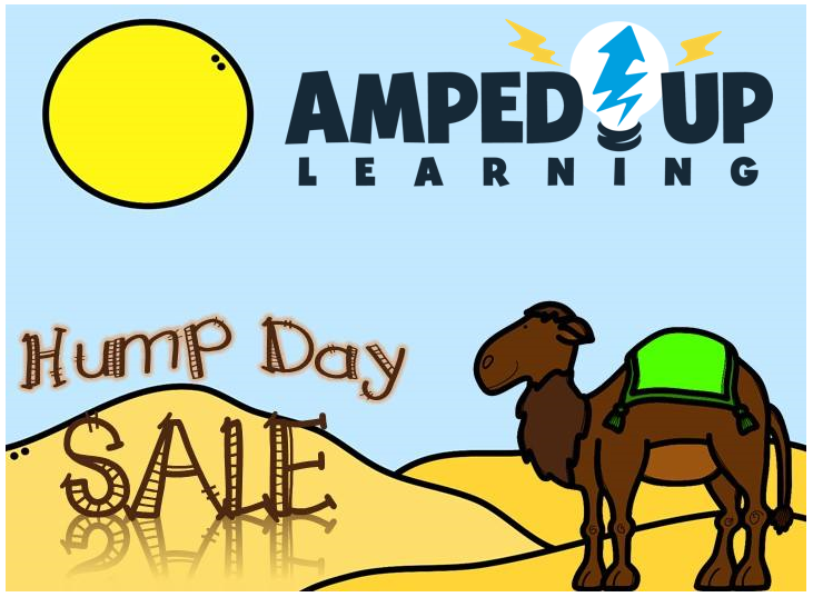 HumpDay Sale. (now through Wed @midnight) Loads of products up to 50% off NO CODE NEEDED ampeduplearning.com/hump-day-sales/