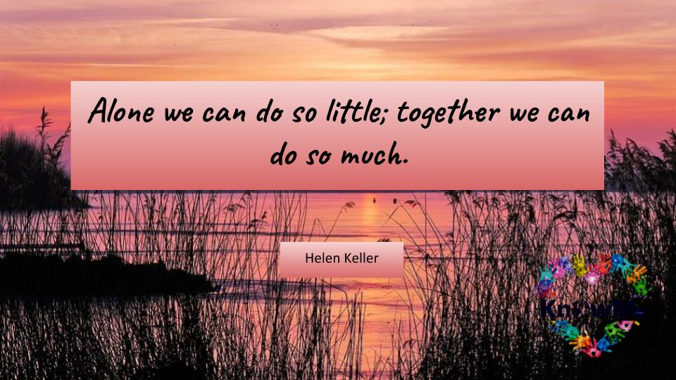 Stronger together.   Follow @KnowMe_org for daily insightful quote.   https://t.co/CSXujK0SHY    #knowmeinitiative #inclusion #equality #culture #diversityandinclusion #community #diversitymatters #equity #weareone #respect #pride #diversity #onelove #blm #BetterTogether #unity https://t.co/IDWItLMDeP