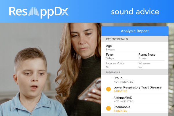 Sponsored Content: Assessing respiratory symptoms via telehealth can be challenging. ResAppDx is a TGA approved, clinically validated app that assists diagnosis of respiratory disease. ResApp's AI analyses coughs & instantly sends the result to the doctor https://t.co/1xSffpHzV8 https://t.co/zwyiX7BFPb