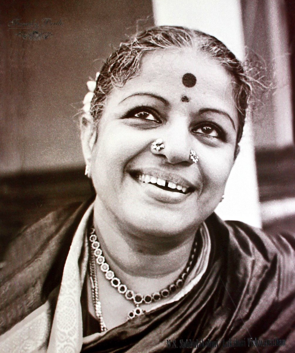 MS Subbulakshmi is the first Indian musician to be awarded Bharat Ratna & The Ramon Magsaysay award.  Her first public performance was at the age of 11. At 17 she did solo concerts and also featured in Tamil films since debut in 1938.   Today is her 104th birth anniversary