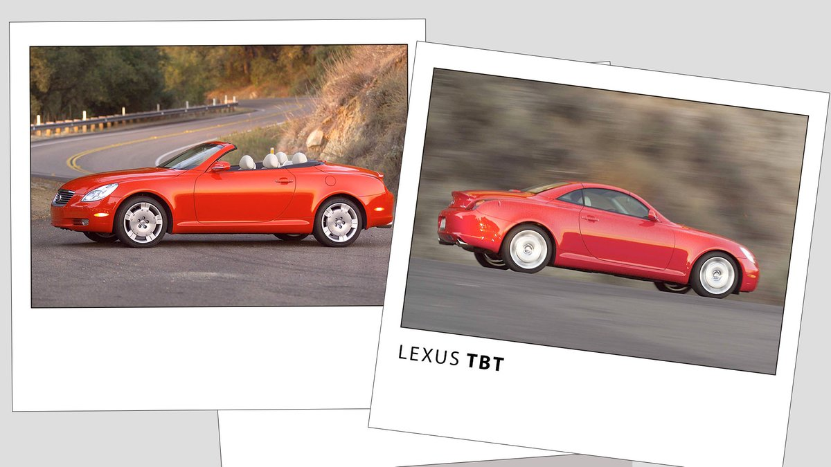 #DYK our first convertible, the #LexusSC 430 featured an aluminum hardtop that retracted in 25 seconds?