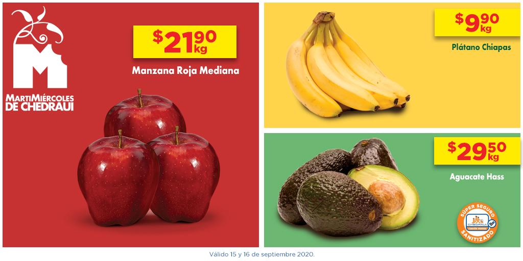 La semana sabe mejor con las frutas y verduras de nuestro #MartiMiércoles. https://t.co/t6I2BISm1l
