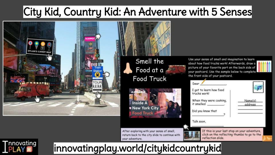 🌆It's a City Kid, Country Kid🏞 #DigitalAdventure to explore 5 senses in different places! Cover ELA standards as Ss visit Times Square in NYC or a farm & create postcards to share discoveries! https://t.co/pOXsVCn9z3 #innovatingplay #GAfE4Littles #kinderchat #1stc… https://t.co/QnA46wlBUt