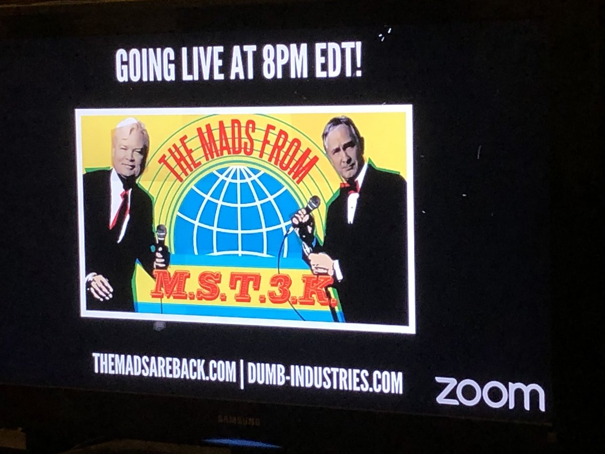 Set up on my TV and ready to go!!!! @TheMadsAreBack @FrankConniff @TraceBeaulieu https://t.co/Bg7wqg0GlN