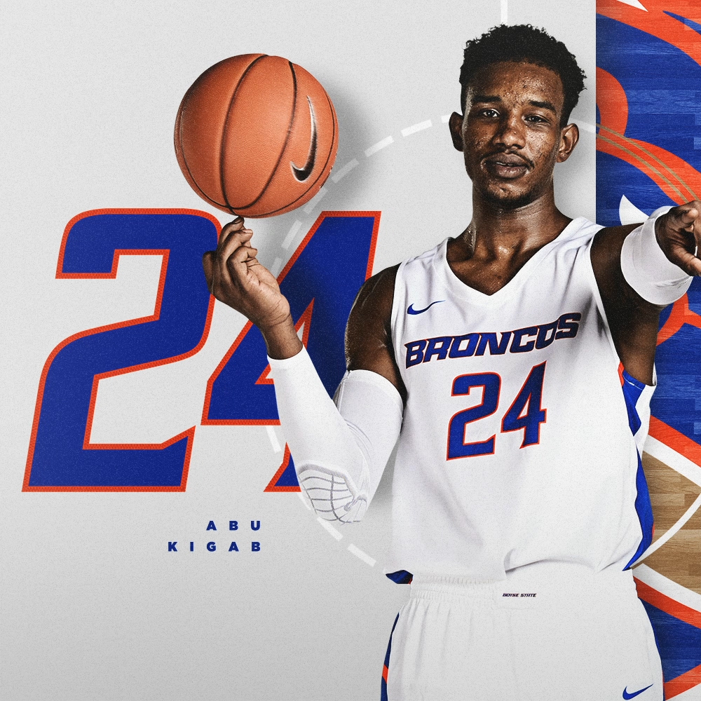 "Abu Kigab made his presence felt in just one semester. Hes ready to bring the #MambaMentality to a full season for the Broncos in his senior year. 📏 67"" / 220 lbs 🏀 Senior / Forward 🌎 St. Catharines, Ontario ⏪ 11.1 ppg, 3.6 rpg in 19-20 #BleedBlue"