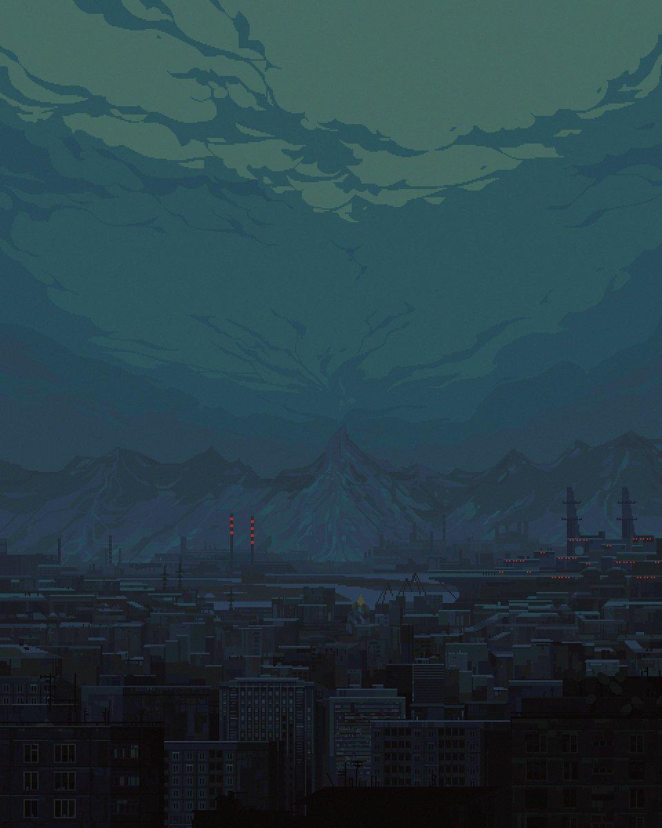 #cloudart #pixelart  #ドット絵