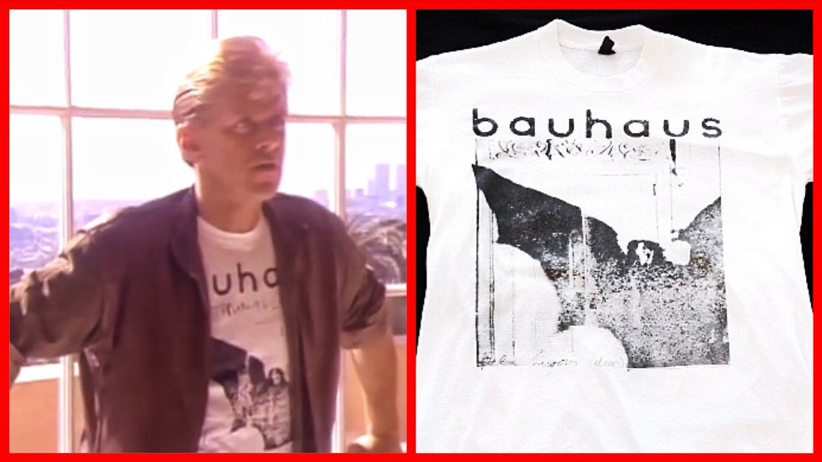 "Which is more cringeworthy: The 1984 song ""You're the Inspiration"" by Chicago, or Peter Cetera wearing a Bauhaus t-shirt in the music video?"