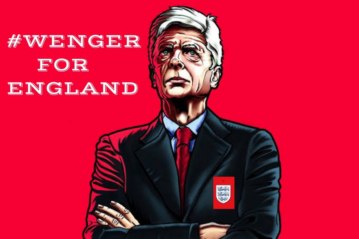 @FIFAWorldCup #WengerForEngland spread the word