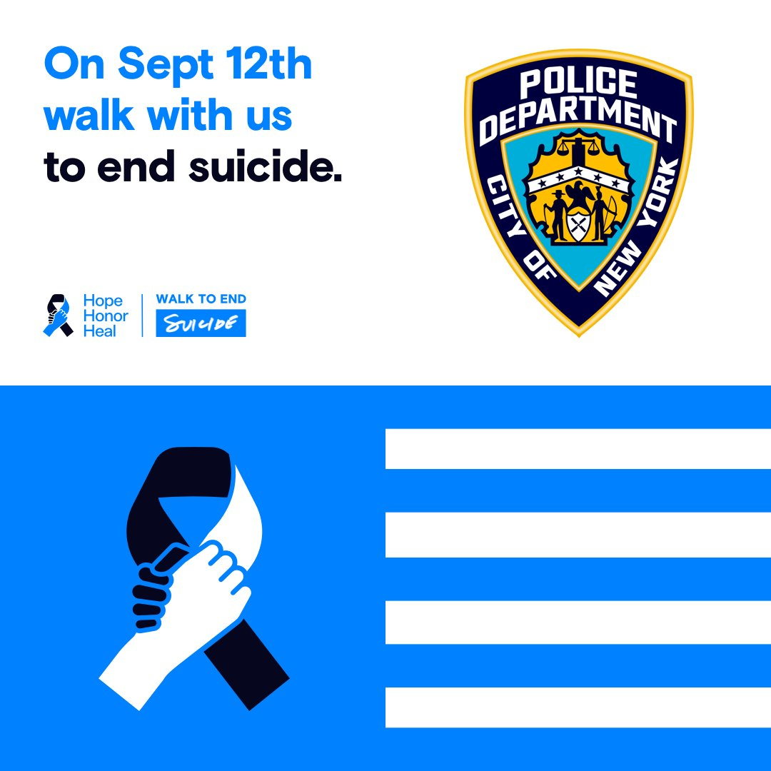 Join fellow law enforcement officers, family, and friends nationwide as we walk together to raise awareness of law enforcement suicide.  Go to https://t.co/d38udG6KBy to register for the walk. https://t.co/hAGWbGYUO0