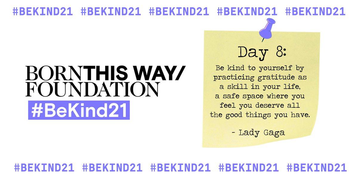 #BeKind21 @BTWFoundation ⭐️