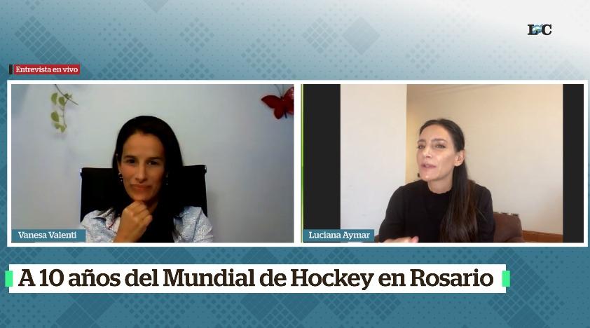 #Ahora sumate a la entrevista en vivo con Luciana Aymar (@aymarlucha) https://t.co/lJF4Dp7fYH https://t.co/IQ5fiVy6w6