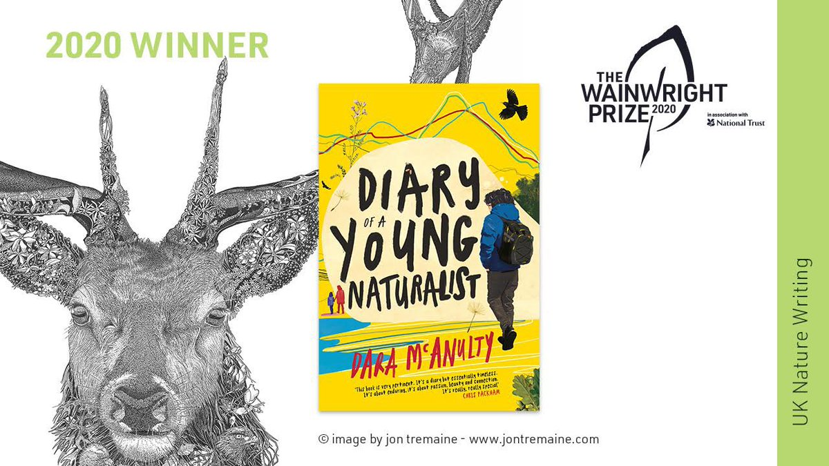 I cannot keep up with your congratulations!!! Thank you all so much!!! Just about to be interviewed on @Channel4News 🙌🙌 😨#WainwrightPrize20 🌱 https://t.co/QJmFKcLlos