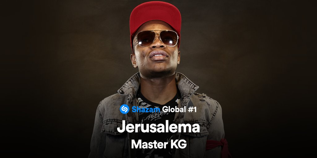 Congrats @MasterKGsa! #Jerusalema is now the most Shazamed song in the world 🎉