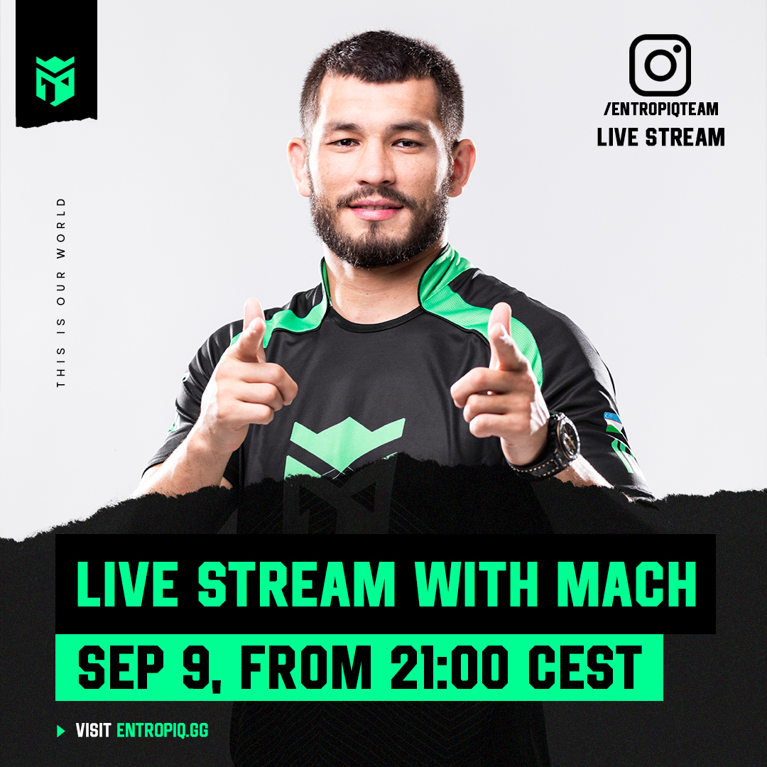 ☝Tomorrow 21:00 livestream on IG @entropiqteam not only about esports!🤳 https://t.co/PkAW9gsJbg