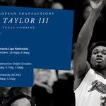 Image for the Tweet beginning: 2020-21 European Transactions:  Jimmie Taylor