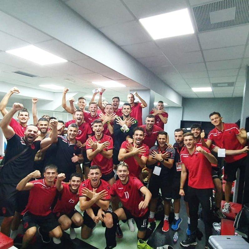Shqipëria #U21 🇦🇱 3-1🇦🇩 Andorra#U21 8️⃣ #shtator 2️⃣0️⃣2️⃣0️⃣ 🕖 19:00 📺 #RTSH 🏟#ElbasanArena #AlbaniaU21 #Euro2021 https://t.co/SQgj4pBNCA