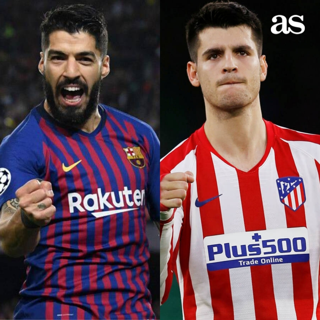 🤔 ¿Quién sería mejor delantero para la Juventus? 🔁 Luis Suárez ❤️ Morata https://t.co/jRUDOk83S8