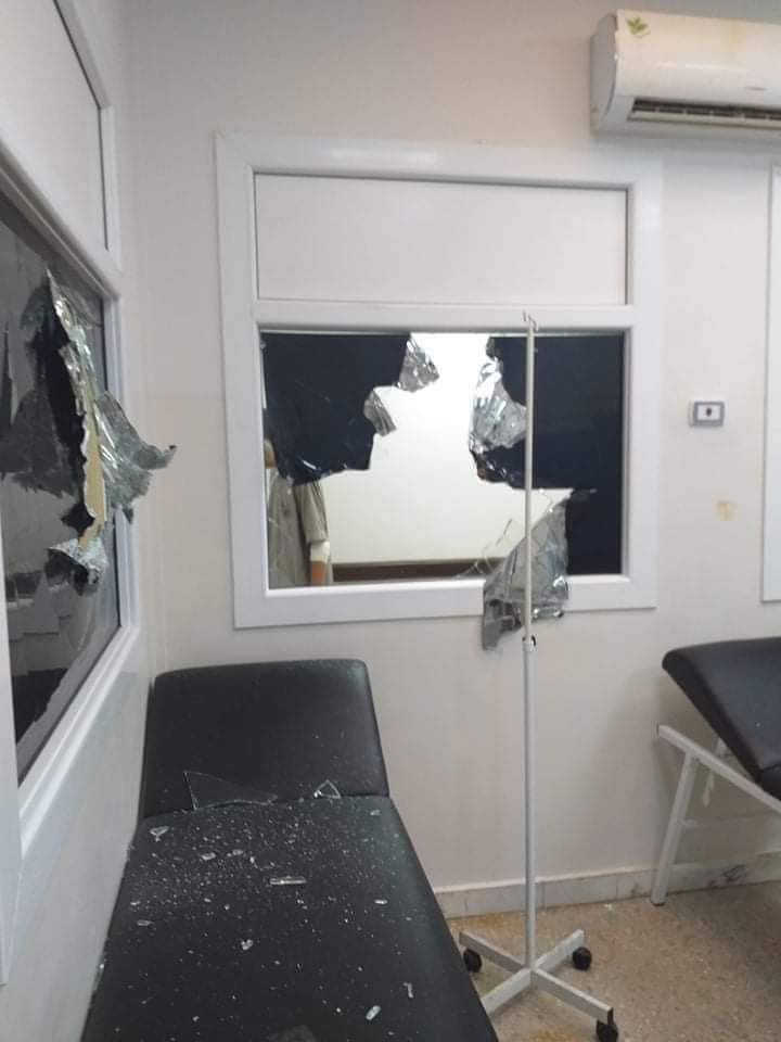 sustained attacks on healthcare workers with insecurity  #baniwalid #Libya https://t.co/4bUTwvQBX3