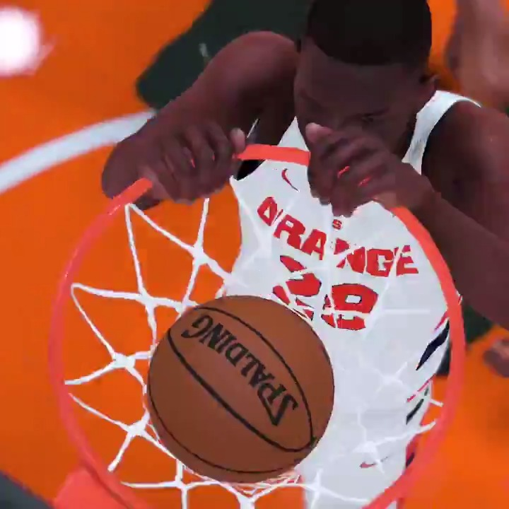 Cuse x @NBA2K 🍊🔥
