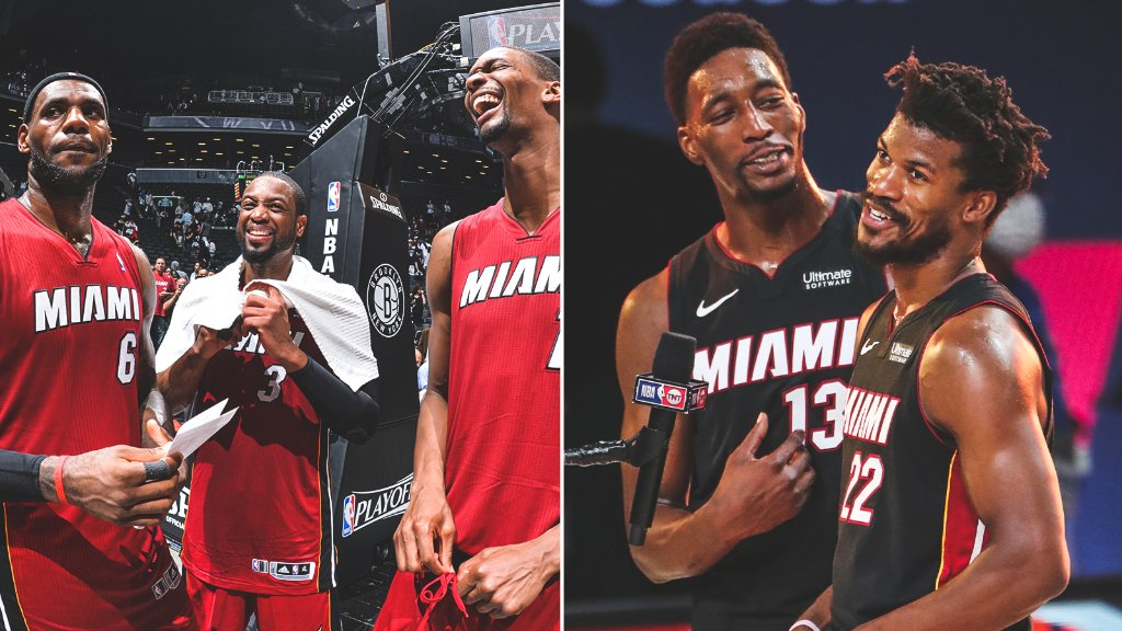 For the first time since 2014, the Heat are in the Eastern Conference Finals 🔥
