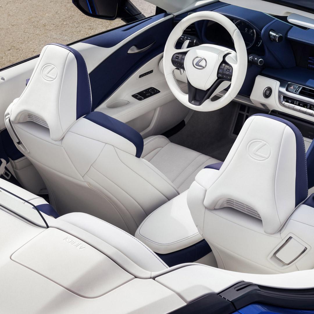 Enjoy first-class seats in an open-air cabin. The exhilarating new #LexusLCC. lexus.us/3b2gO3E