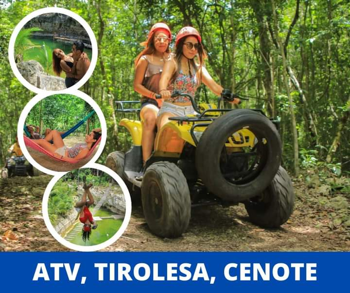 🌴🏍 Ecopark ATV's Nuscaá Tours🏍🌴  #colosotourscancun #cancún #cuatrimotos #tiroleza #cenotes #puertomorelosmexico #rivieramayamexico #ecopark #tourism https://t.co/zQ4atSYi5B