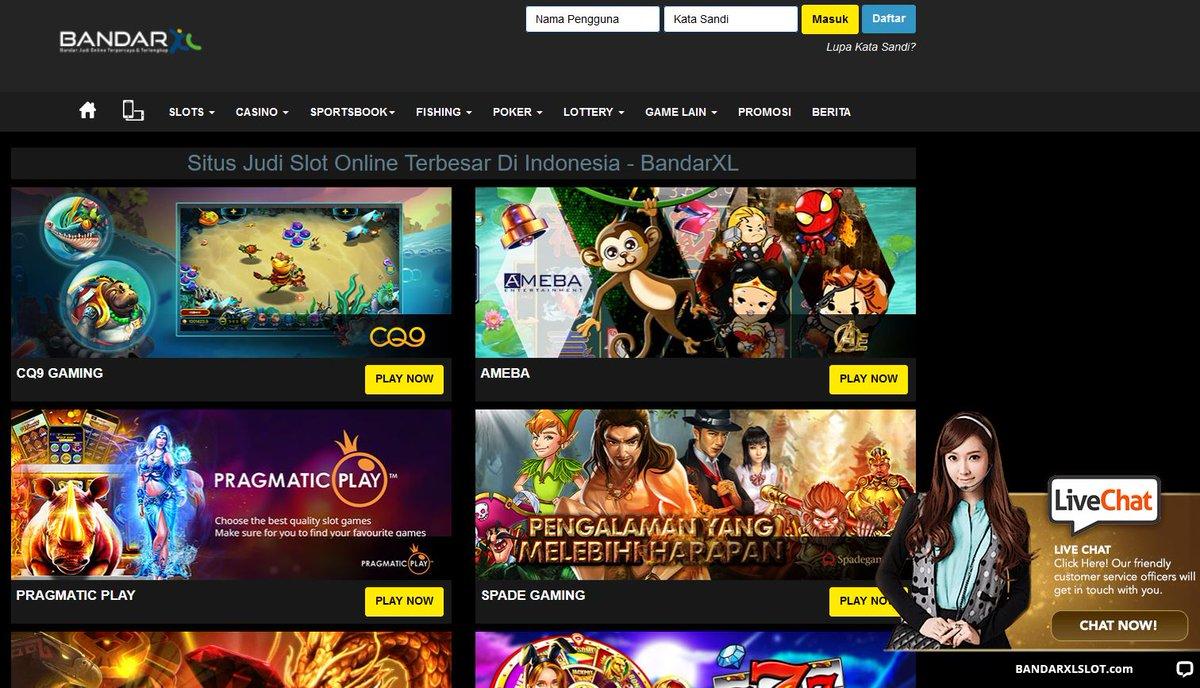 Situs Judi Casino Online Sbobet Slot Deposit Pulsa Situsslotonline Twitter