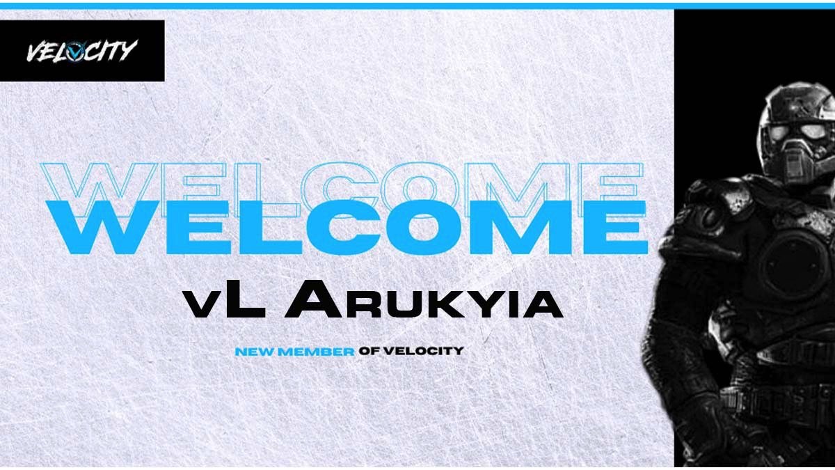 Lets give a vL Welcome to @Arukyia #Gears5 team.  Another great addition. ⚡️#teamvelocity #gearsfam https://t.co/b8PPjN76Ve
