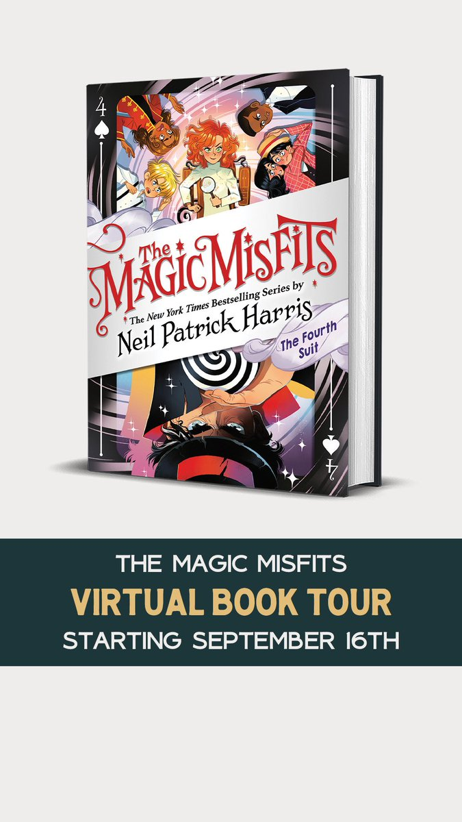 Hey! I've got two virtual book tour events next week. No local gathering for a few, let's have LOTS of people all hanging out, Zoom-style. We'll chat, answer question, learn magic. I'm in. Are you? (Link in bio) @bluewillowbooks @unlikelybkstore @littlebrownyr #themagicmisfits