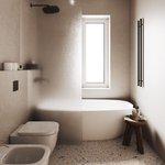 Image for the Tweet beginning: Renderizado por: @shhh.arch ¿Objetivo de baño?