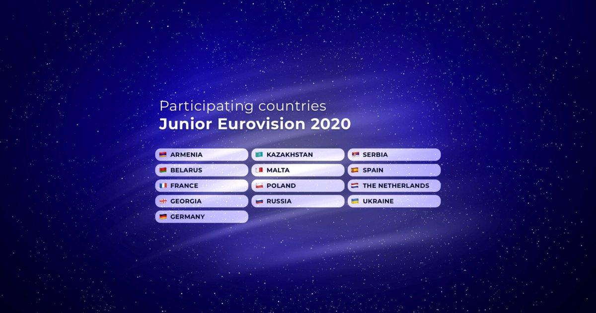 13 países participaran en Varsovia 2020 https://t.co/doc1vI6noZ #Eurovision #MoveTheWorld #jesc2020 https://t.co/pFLOJgOKeR