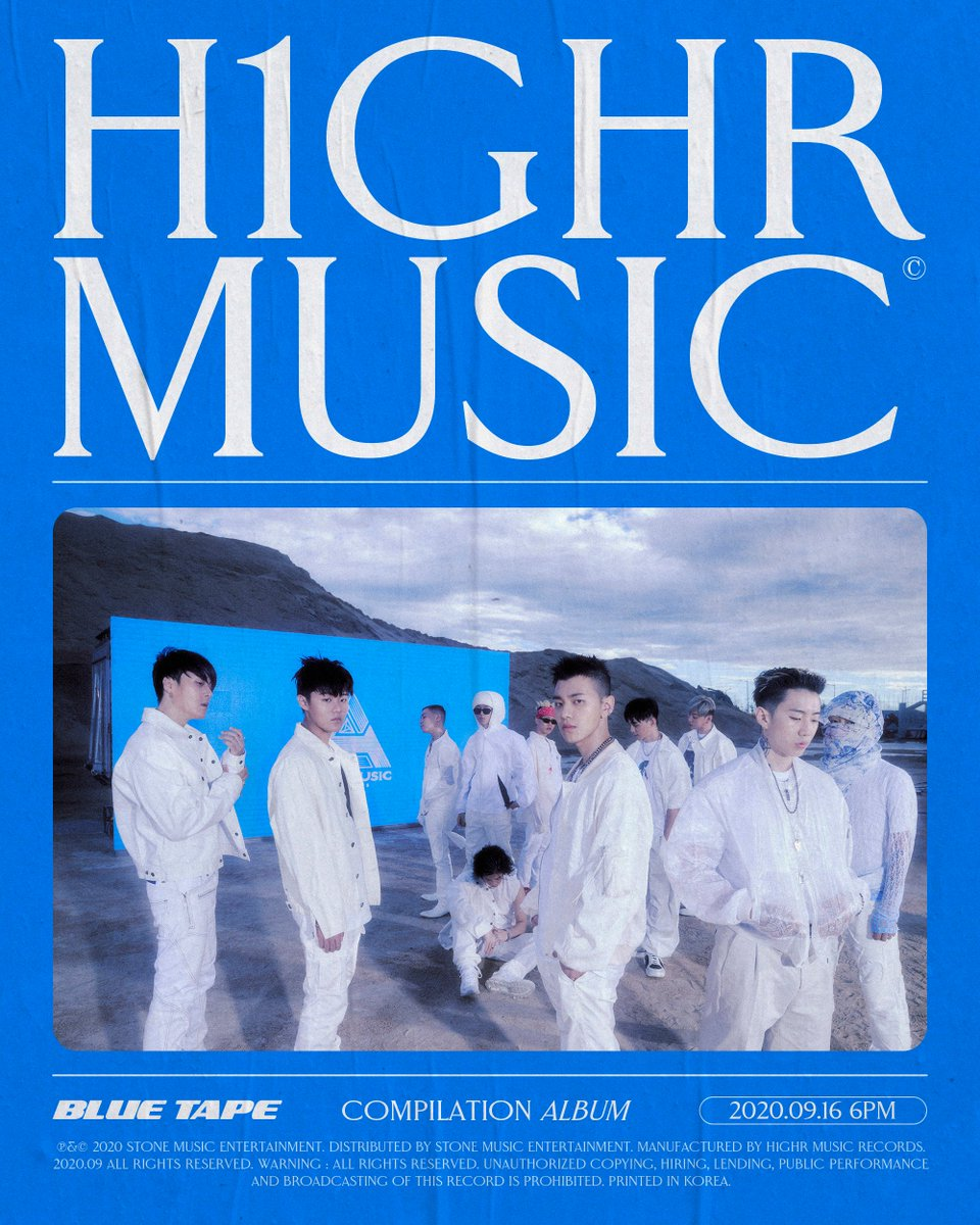 [H1GHR : BLUE TAPE] D-7 🔥🔥     ⠀ H1GHR Season never ends ⠀ #BLUE_TAPE #ComingUp #컴필레이션 #Compilation #H1GHRMUSIC #하이어뮤직 https://t.co/I3rxCPZegH