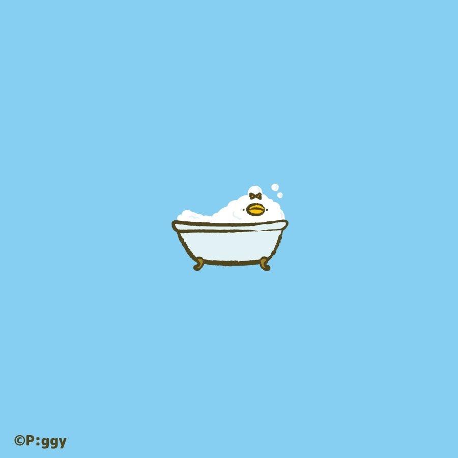 あわあわぶくぶく。  #ピヨピヨちぴよ #イラスト #illustration #お風呂 https://t.co/aZmndHou1j