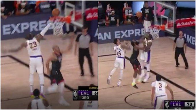 【影片】連續大火鍋!詹姆斯先是貼身防守封蓋Gordon上籃,接著再次捍衛禁區大帽哈登!-黑特籃球-NBA新聞影音圖片分享社區