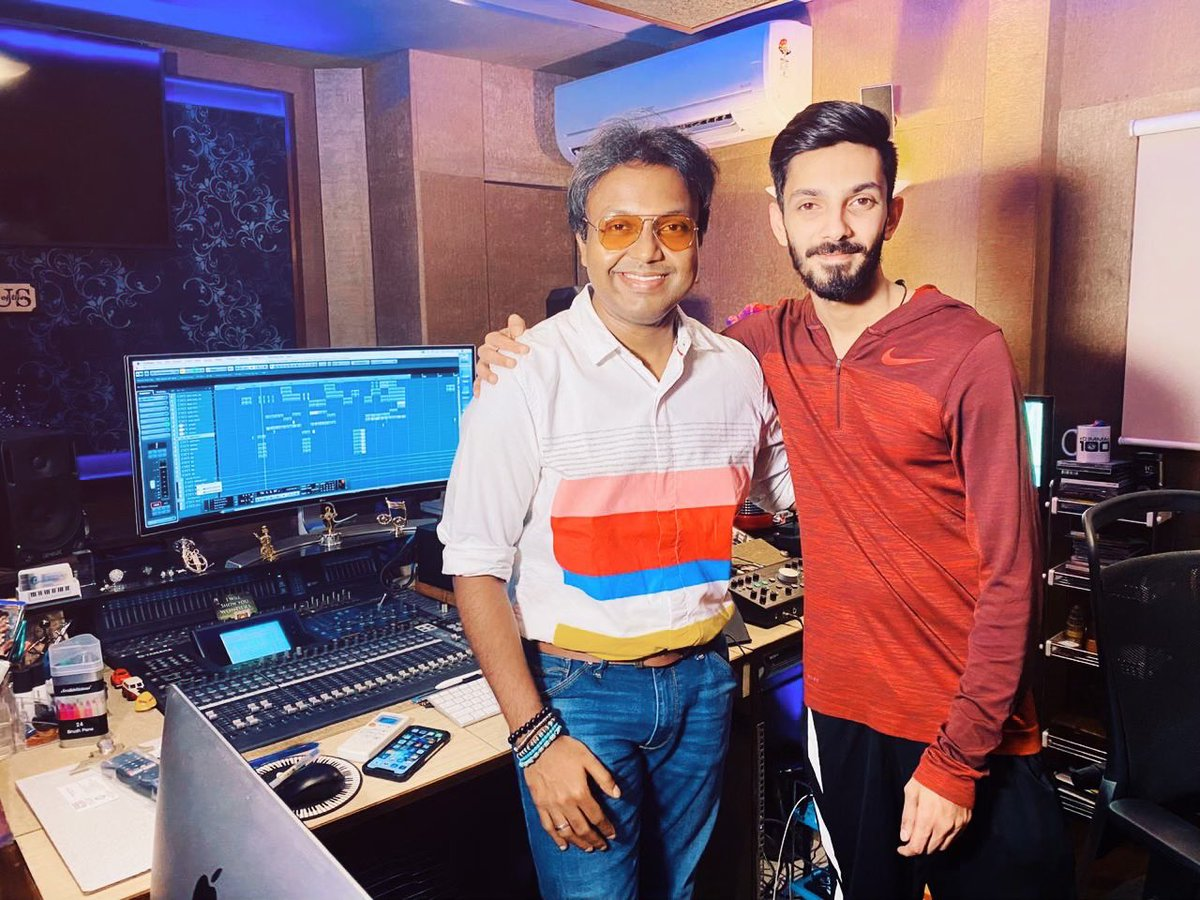 After Umpteen Valuable Collaborations with dear brother @anirudhofficial Here we come once again for @actor_jayamravi starrer #Bhoomi 's first single releasing tomorrow! This time for an ambitious Tamil anthem! #TamizhanEndruSollada @madhankarky  PraiseGod https://t.co/b0y4I6FcrV